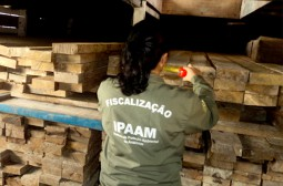 Ipaam e Batalhão Ambiental realizam operação para combater pesca comercial ilegal no rio Uatumã