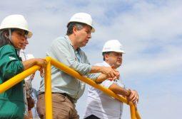 Secretário da Sema e presidente do Ipaam faz visita técnica a ETE Timbiras da Manaus Ambiental