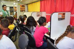 Ipaam faz atividades educativas no Dia Mundial da Água nas escolas de Presidente Figueiredo