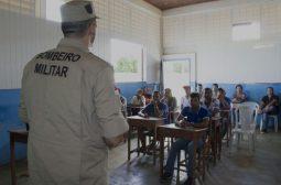 Corpo de Bombeiros inicia curso de brigadista de incêndio em Apuí no Mutirão de Licenciamento
