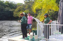 Ipaam fiscaliza 38 empreendimentos e notifica três estaleiros no rio Tarumã-Açu