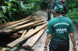 Ipaam encerra Operação Jaracatuma RDS do rio Uatumã