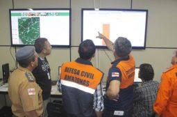 Sema divulga boletins diários de alertas de queimadas, cheia e vazante dos rios no Amazonas