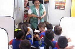 Ipaam realiza atividades educativas para reduzir focos de calor em Iranduba