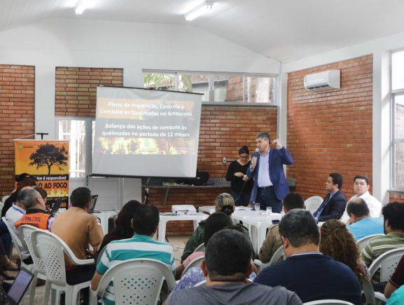 Durante encerramento da reunião do Fopes, Marcelo Dutra defende fortalecimento do Plano de Combate ao Desmatamento nos municípios do Amazonas