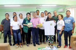 Presidente do Ipaam recebe associação dos AAV
