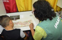 Ipaam leva atividades de educação ambiental para escola na Colônia Antônio Aleixo