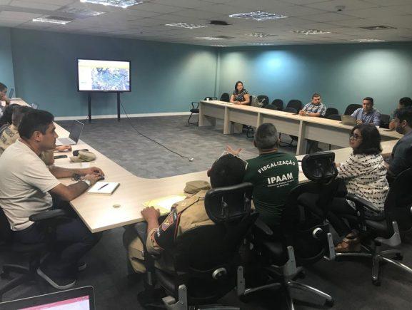 Órgãos estaduais definem reforço em operação de combate às queimadas no Amazonas