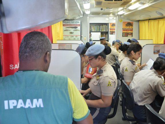 Biblioteca Móvel do Ipaam estará presente na Corrida dos Curumins, em Manacapuru