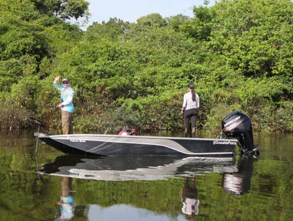 Ipaam autoriza torneio internacional de pesca esportiva no lago Janauari