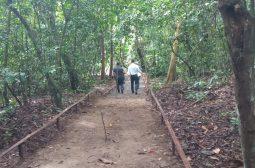 Ipaam retoma obras de Bosque Ecológico