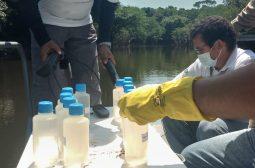 Ipaam e grupo de pesquisa da UEA realizam monitoramento da qualidade das águas do Rio Tarumã-Açu