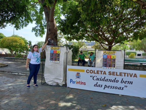 Parintins adota sistema de Pontos de Entrega Voluntária para coleta seletiva
