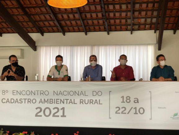 Em Brasília, Amazonas participa do 8° Encontro Nacional do Cadastro Ambiental Rural