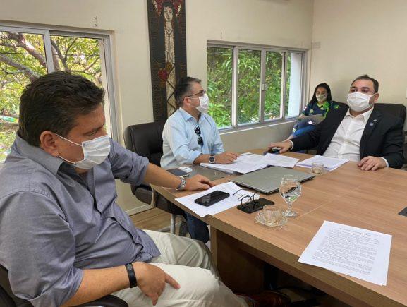 Ipaam reúne com presidente da Aleam para alinhar ações da agenda ambiental